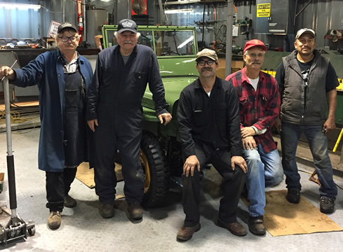 The Willys America Shop Team