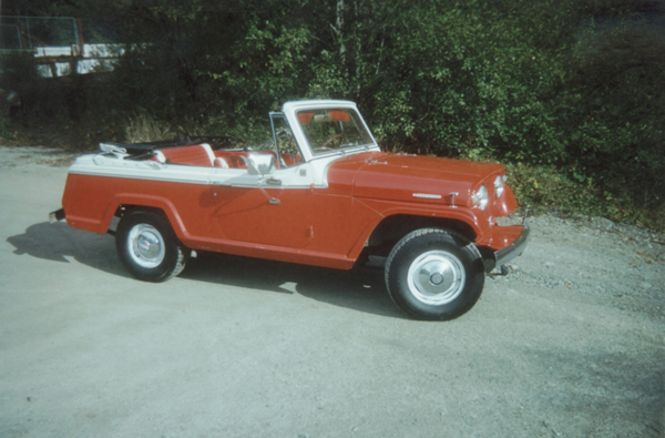 Jeepster Convert Jane on Jeepster Commando